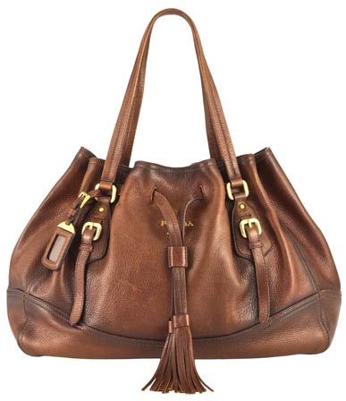 Prada Deerskin Handbag