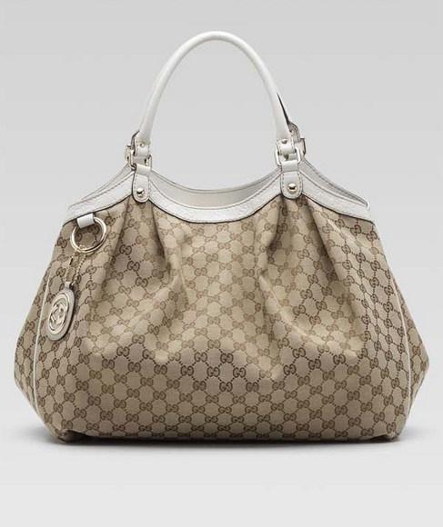 Gucci Sukey Medium Top Handle Bag 247902 in Beige Coral.