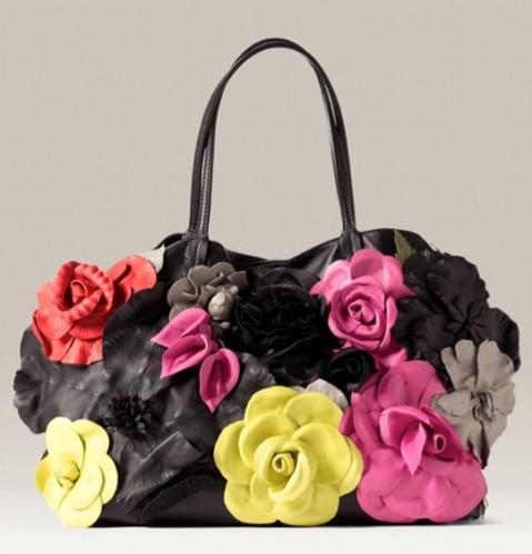 Valentino Fleurs Couture Tote