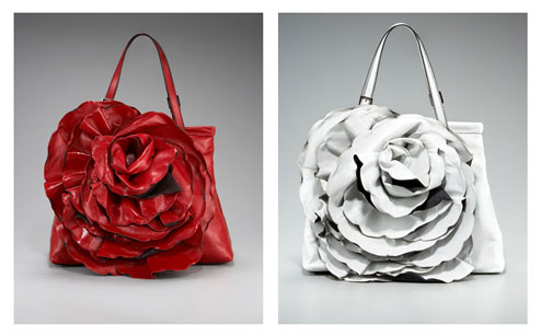 Valentino Napa Rose Handbag