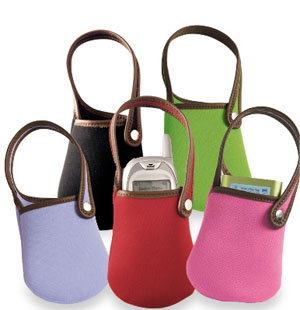 Cell Phone Bag Makes A Cute Gift