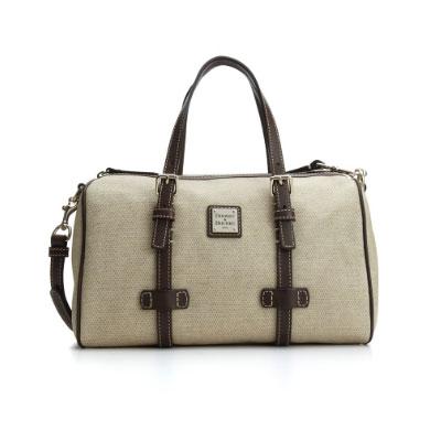 Dooney Bourke Handbag Panama Barrel Satchel