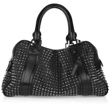 Burberry Studded Handbag