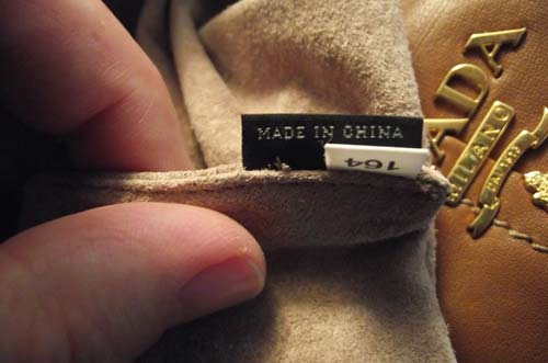 Prada - Made in China