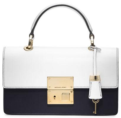 Michael Kors - Middleton Colorblock Square Flap Bag