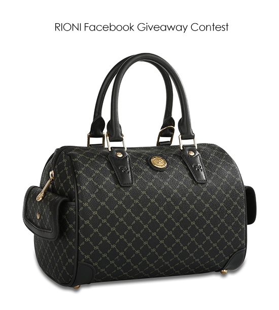 Review A Rioni Product And Win Facebook Page Handbag