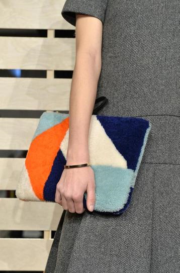 J Crew Large Clutch - Handbag Trend for Fall 2014