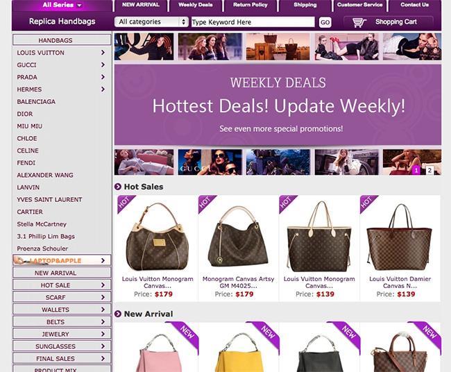 Fake Designer Handbag Deals
