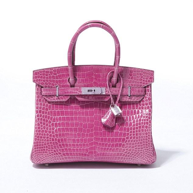 Limited Pink Alligator Hermes Birkin