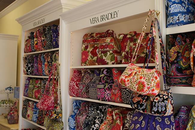 Vera Bradley Handbag Display