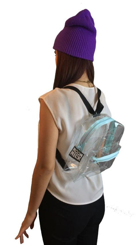 Designer Clear Backpack