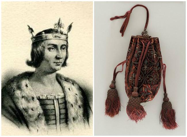 Kng Louis X of France - Handbag