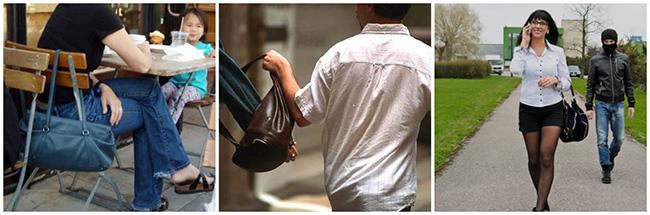 Designer Handbag Theft