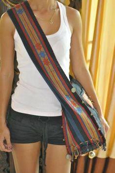 Cross Body Bag for Back Pain