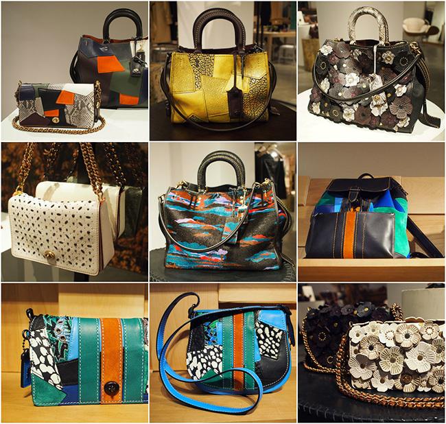 Coach Pre-Fall Handbag Designs