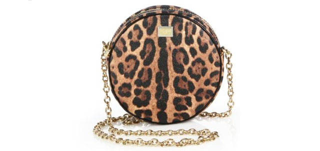 Dolce And Gabbana - Leopard Shoulder Bag