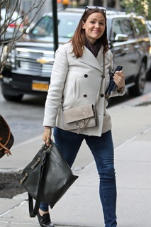 Jennifer Garner - Chanel Drawstring Bag