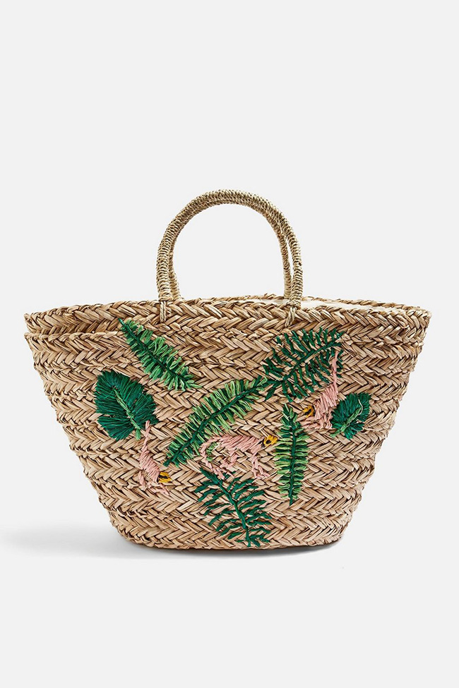 e9ac2b06dfb1 Straw handbags lend an effortless vibe to any look