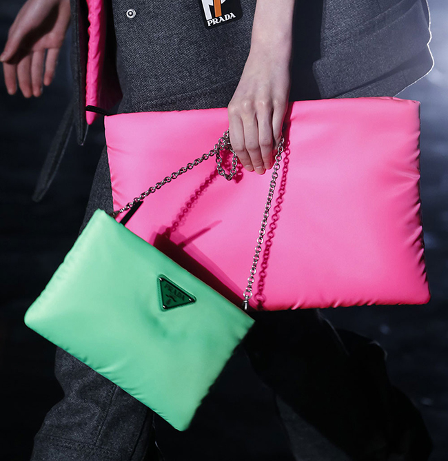 355688e561988a Feeling Down? The Prada Fluo Collection Will Brighten Your Outlook ...